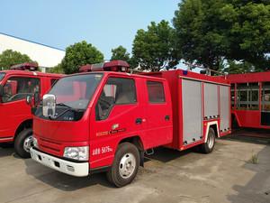 1.5-2T江铃水罐消防车(国五)