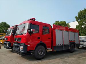6-8吨东风专底泡沫消防车(国五)