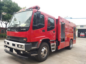 5T五十铃水罐消防车(国五)