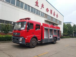 6T东风天锦水罐消防车(国五)